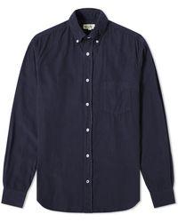 Hartford Pal Baby Cord Shirt - Blue