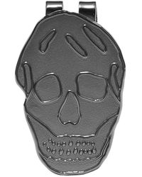 Alexander McQueen Skull Money Clip - Metallic