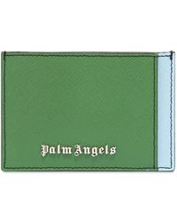Palm Angels Colour Block Card Holder - Multicolour