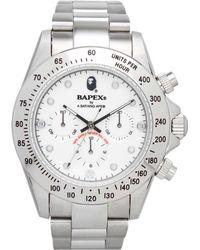 A Bathing Ape - Type 3 Bapex Watch - Lyst