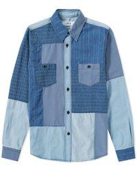 FDMTL - Boro Patchwork Shirt - Lyst