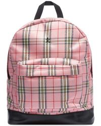 Opening Ceremony Plaid Backpack - Pink