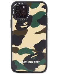 A Bathing Ape X Casetify 1st Camo Iphone 11 Pro Case - Yellow