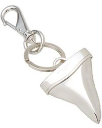 Givenchy - Shark Tooth Keyring - Lyst