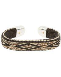 Chamula - Horse Hair Bendable Bracelet - Lyst