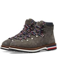 Moncler - Peak Nubuck Hiking Boot - Lyst