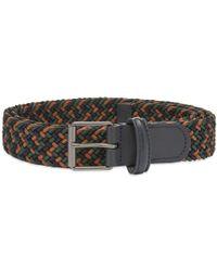 Andersons Anderson's Slim Woven Textile Belt - Multicolour