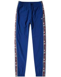 Champion Corporate Taped Track Pant - Blue