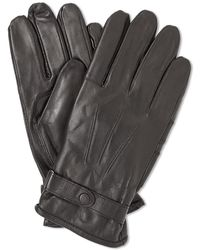 Barbour Burnished Leather Thinsulate Glove - Brown
