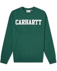Carhartt WIP University Sweat - Green