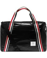 Thom Browne Ripstop Weekend Bag - Black