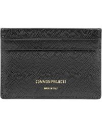 Common Projects - Grain Leather Multi Card Holder - Lyst