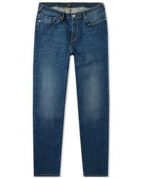Paul Smith Tapered Fit Lightweight Stretch Jean - Blue
