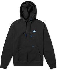 ADER error Embroidered Logo Hoodie - Black