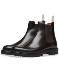 Common Projects - Chelsea Boot Lug Sole - Lyst