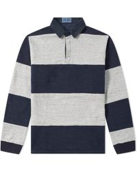Blue Blue Japan - Border Rugby Shirt - Lyst