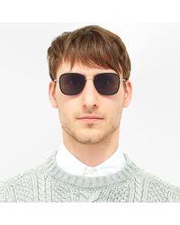 Thom Browne Tb-800 Sunglasses - Metallic