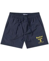 Barbour - Beacon Logo Swim Short - Lyst