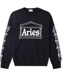 Aries - Temple Crew Sweat - Lyst