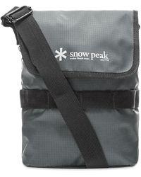 Snow Peak Mini Shoulder Bag - Gray