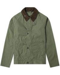 Barbour Short Bedale Jacket - Japan Collection - Green