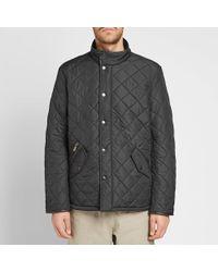 Barbour Powell Quilt Jacket - Black
