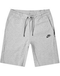 Nike Tech Fleece Short - Grey