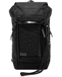 Master Piece 25th Anniversary Flap Backpack - Black