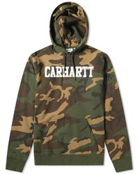 Carhartt WIP Hooded College Sweat - Green