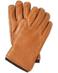 Norse Projects X Hestra Utsjo Glove - Brown
