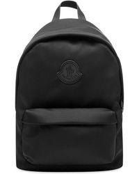 Moncler Canvas Backpack - Black