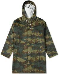 d2d6db30a Stutterheim Cotton Transparent Stockholm Raincoat in Green for Men ...