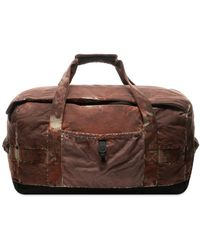 Stone Island Paintball Camo Holdall - Red