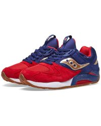 Saucony Grid 9000 'sparring' - Red