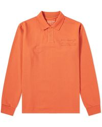Martine Rose - Long Sleeve Polo - Lyst