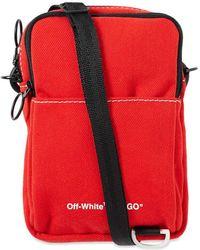 Off-White c/o Virgil Abloh Hip Crossbody Bag - Red
