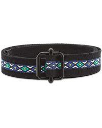 Stussy Woven Taped Web Belt - Black