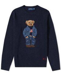 Polo Ralph Lauren - Men's Iconic Polo Bear Sweater - Lyst