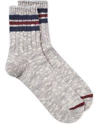 Anonymous Ism - 3 Line Slub Sock - Lyst