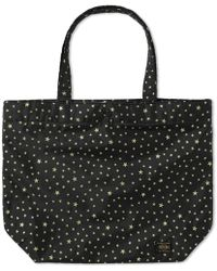 Head Porter Stellar Large Shopping Bag - Black