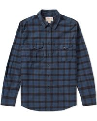 Filson Mackinaw Jac Shirt - Green