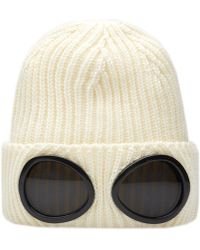C P Company - Classic Goggle Beanie - Lyst