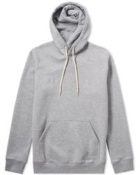 Soulland - Guy Embroidered Logo Hoody - Lyst