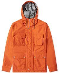AMI Patch Pocket Bonded Parka - Orange