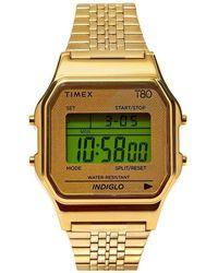 Timex Archive T80 Digital Watch - Metallic