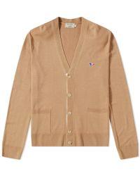 Maison Kitsuné - Maison Kitsuné Virgin Wool Classic Cardigan - Lyst