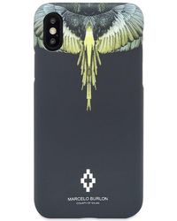 Marcelo Burlon Iphone Xr Wings Cover - Black