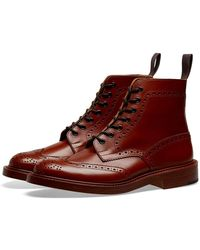 Tricker's Tricker's Stow Brogue Derby Boot - Brown