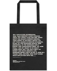 Rick Owens Drkshdw Poem Tote Bag - Black