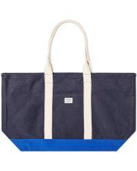 Norse Projects Stefan Beach Bag - Blue
